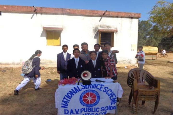 Dav Public School -NSS