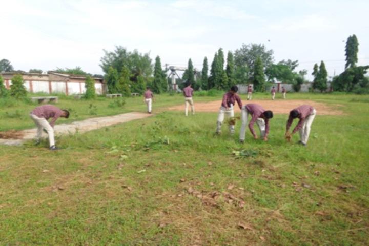 Dav Public School-Swachh Bharath
