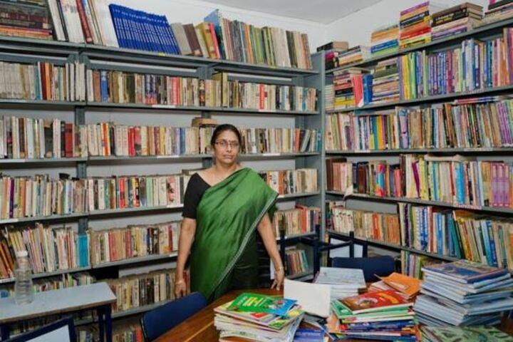 The Scholar High School-Library