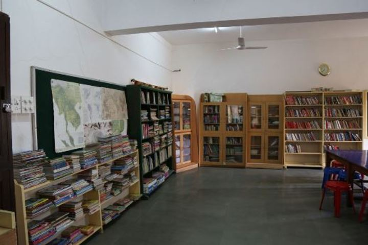 Barnes School and Junior College-Library