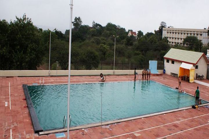 Barnes School and Junior College-Swimming Pool