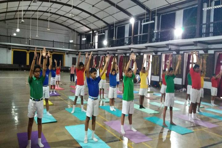 Barnes School and Junior College-Yoga