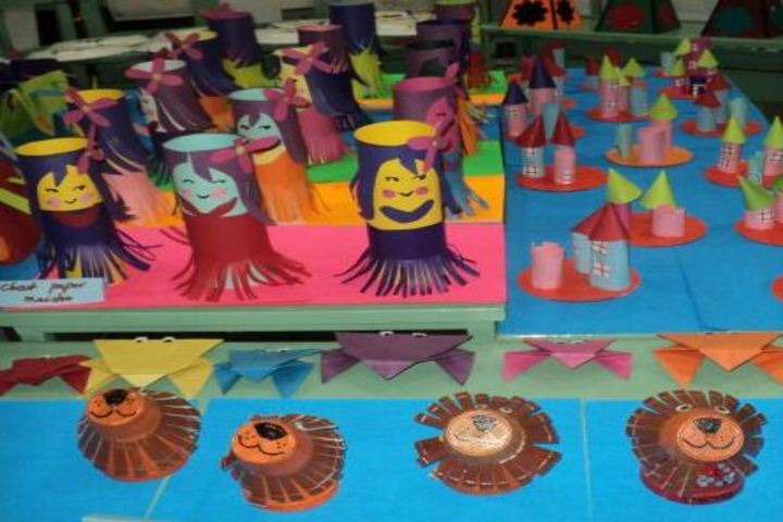Kimmins High School-Art and Craft