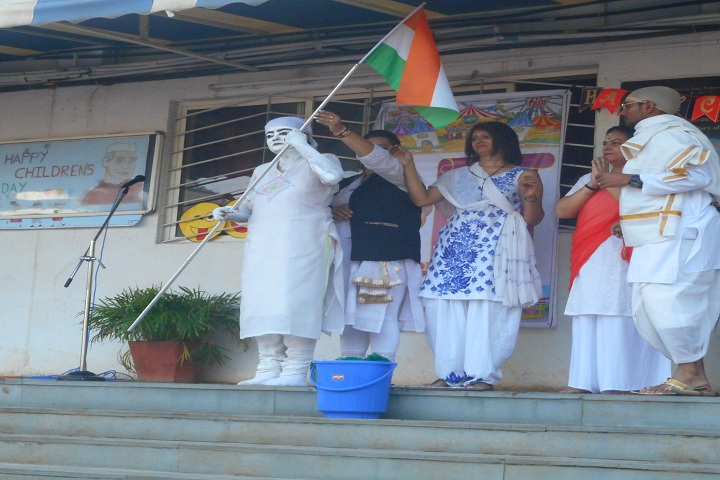Hutchings High School and Junior College-Republic day Celebration