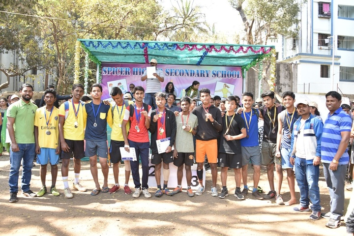 Spicer Higher Secondary School-Sports Team