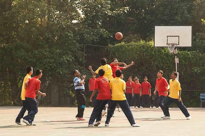 St Marys School-Games