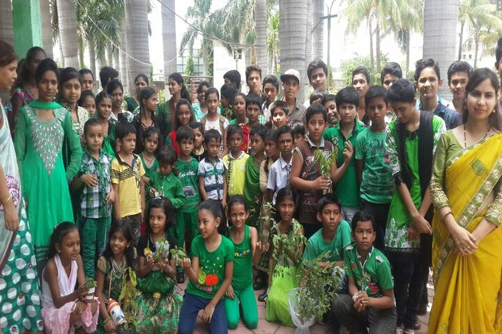 Davara International School-Green Day