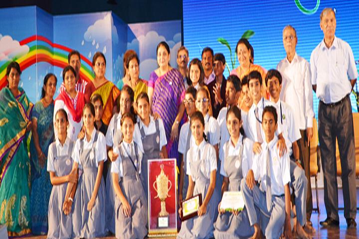 Vidya Pratishthans  Vinod Kumar Gujar Bal Vikas Mandir-Sports Winner