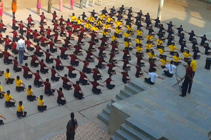 Vidya Pratishthans Vinod Kumar Gujar Bal Vikas Mandir-Yoga Day