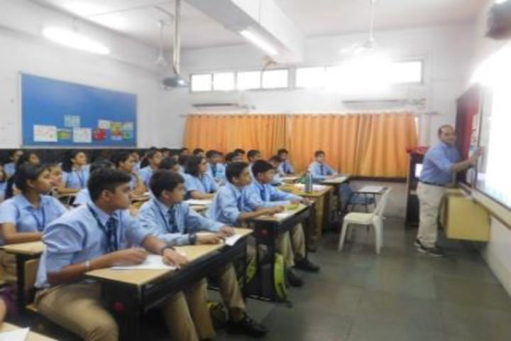 Smt Lilavatibai Podar High School-Classroom