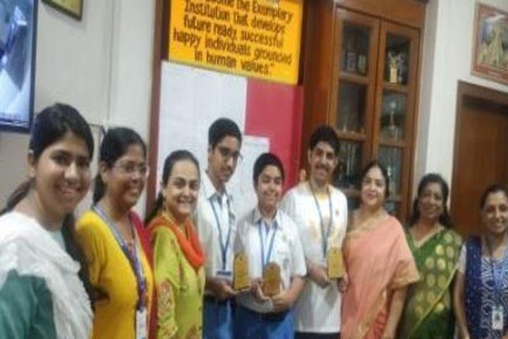 Smt Ramdevi Sobhraj Bajaj Arya Vidya Mandir-Award