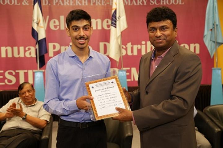 Chatrabhuj Narsee Memorial School-Award
