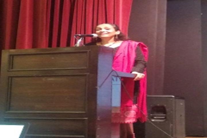 Chatrabhuj Narsee Memorial School-Speech