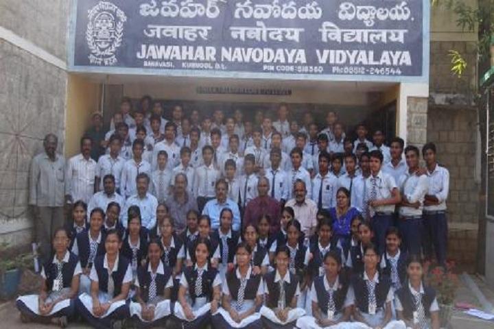 Jawahar Navodaya Vidyalaya - Students and Staff