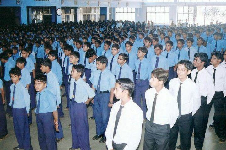 Dr A R Undre English High School-Morning Assembly