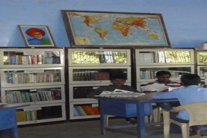 Dr A R Undre English High School-Library