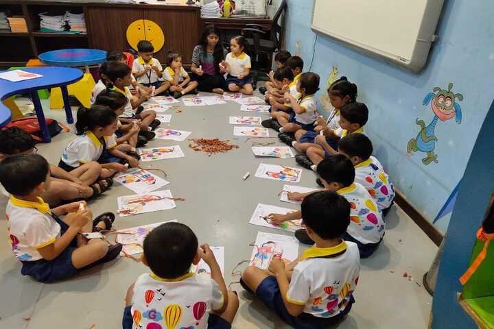 Goregaon Education Societys English Medium School-Art room