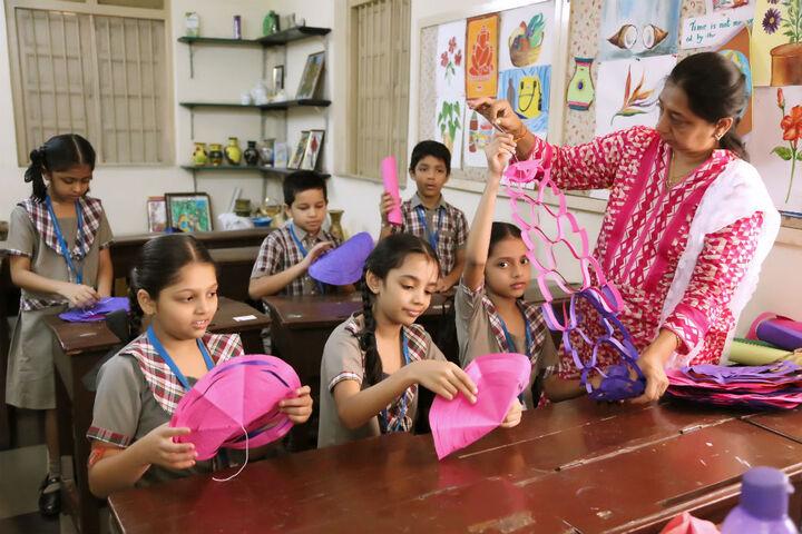 Goregaon Education Societys English Medium School-Craft room