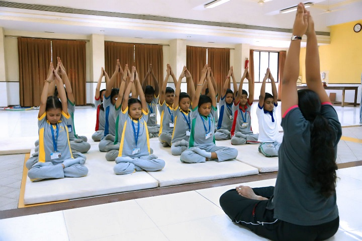 Goregaon Education Societys English Medium School-Yoga