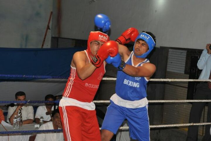 The Bishops Co Education School-Boxing