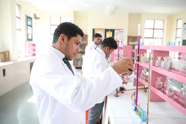 Delhi Public School-Chemistry Lab