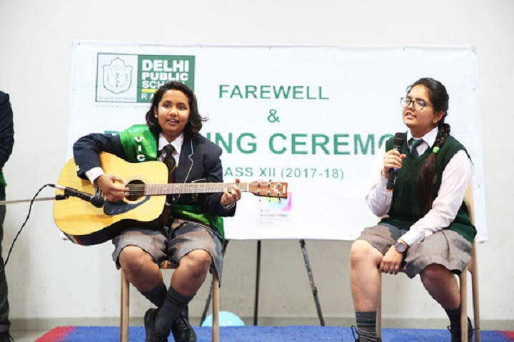 Delhi Public School-Singing Ceremony