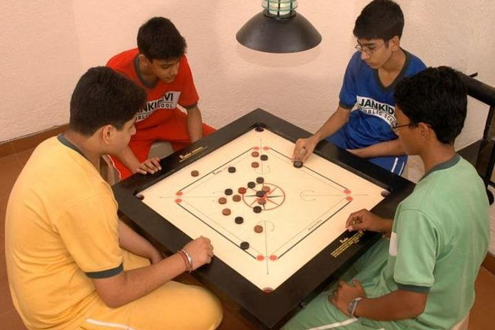Jankidevi Public School-Indoor Games