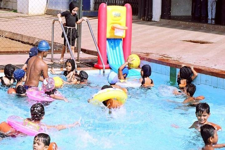 Jankidevi Public School-Swimming Pool