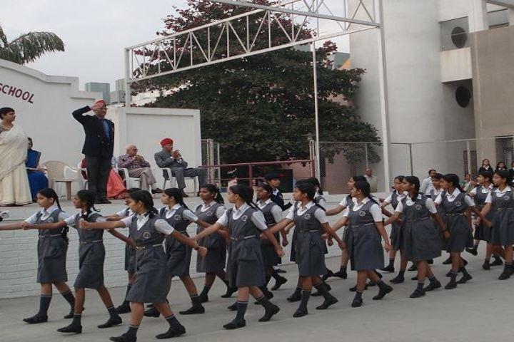 Vidya Pratishthans Magarpatta City Public School-March Past