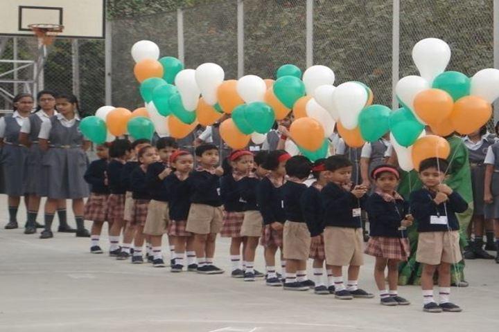 Vidya Pratishthans Magarpatta City Public School-Republic day