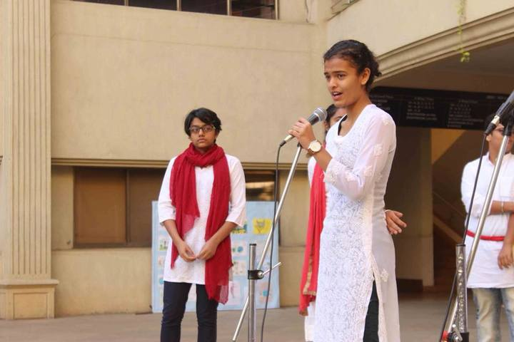 Ashoka Universal School-Singing