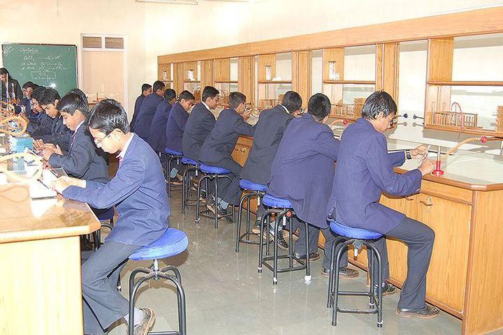 St Xaviers High School-Chemistry Lab