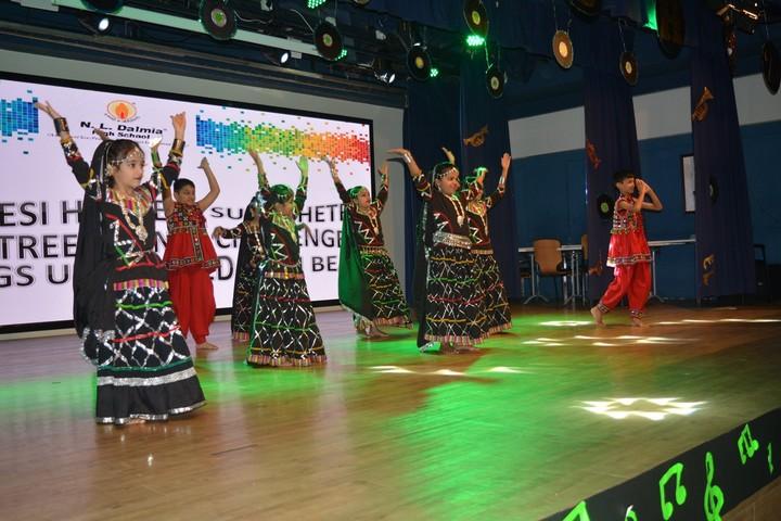 N  L Dalmia High School-Dance