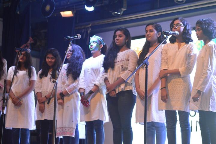 N  L Dalmia High School-Singing