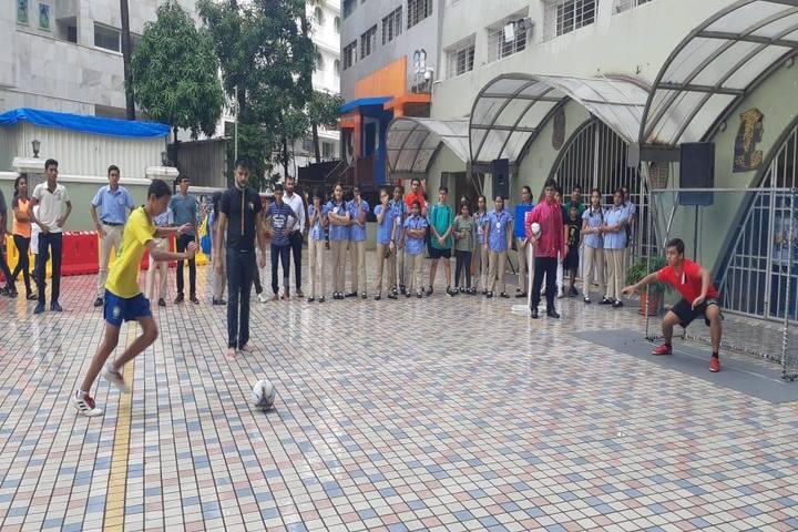 N  L Dalmia High School-Sports