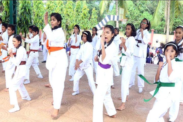 Presentation Convent School-Karate