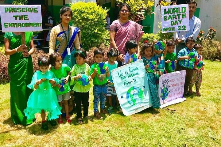 Delhi Public School-Earth day