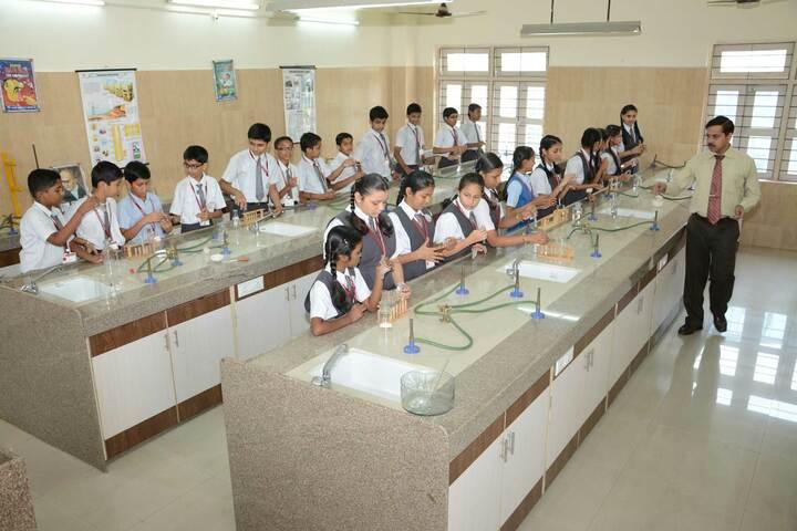 Sharada Gyan Peeth International School-Chemistry Lab