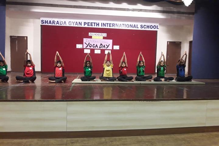 Sharada Gyan Peeth International School-Yoga