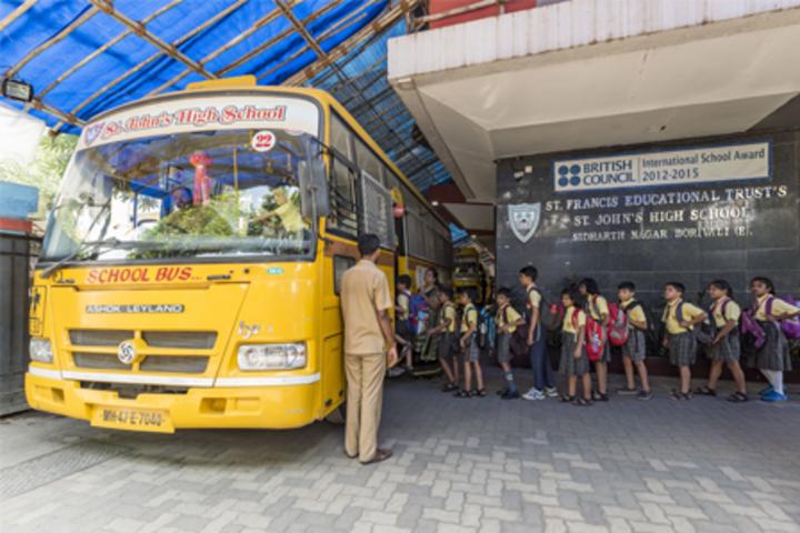 St Johns High School-Transport