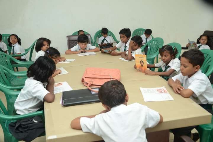 Delhi Public School Kawardha-Primary library