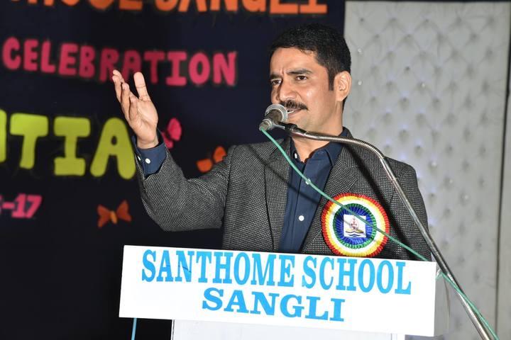 Santhome School-Speech