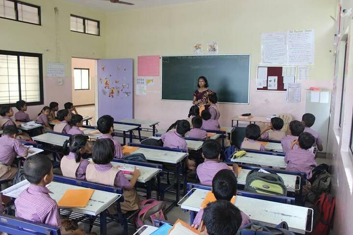 St Thomas English Medium School-Classroom
