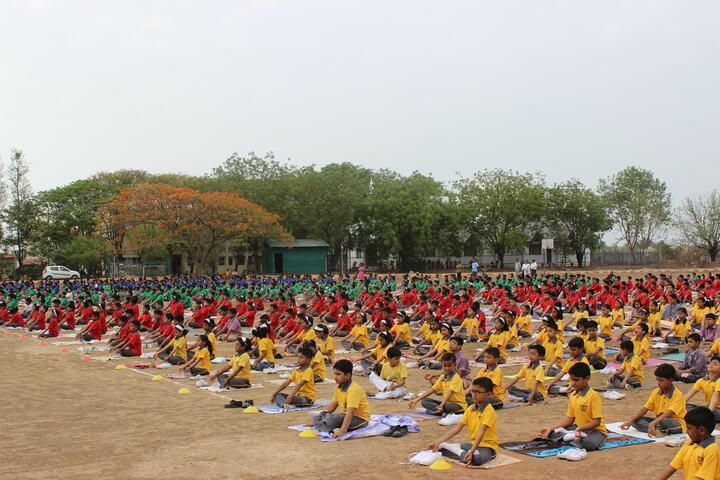St Thomas English Medium School-Yoga