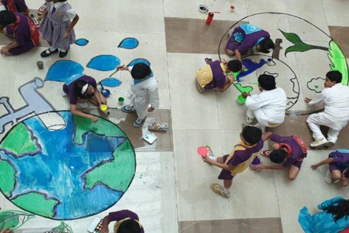 Wisdom World School-Earth Day