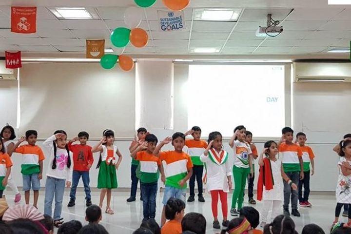 J B C N International School-Republic Day