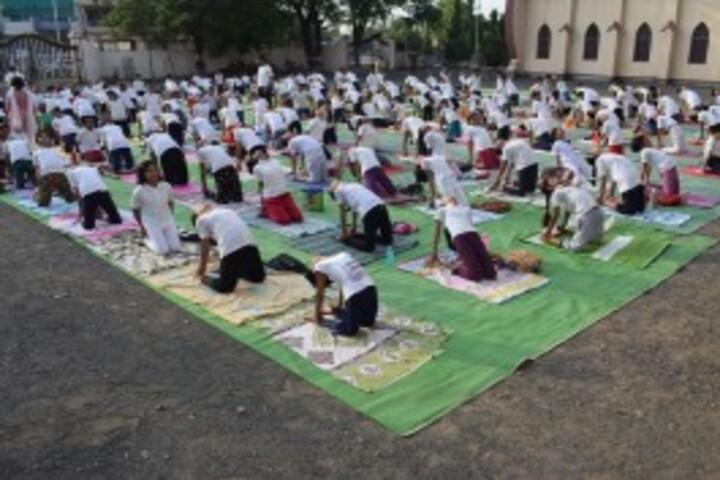 St Antony National School-Yoga
