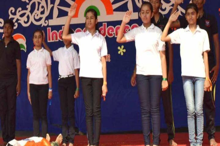 St Antony National School-Independance Day