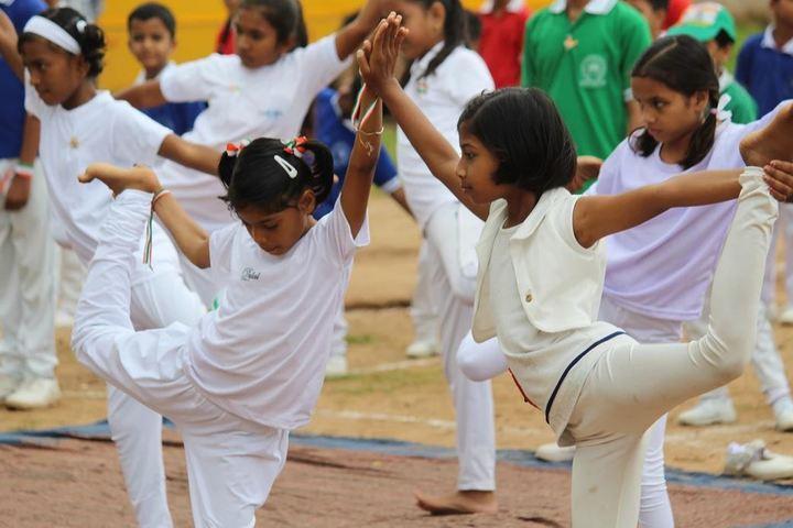 Dev Public School-Yoga