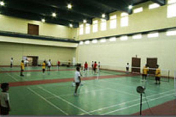 D Y Patil International School-Badmintion courts
